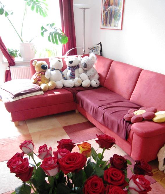 Rosen und Teddys 1