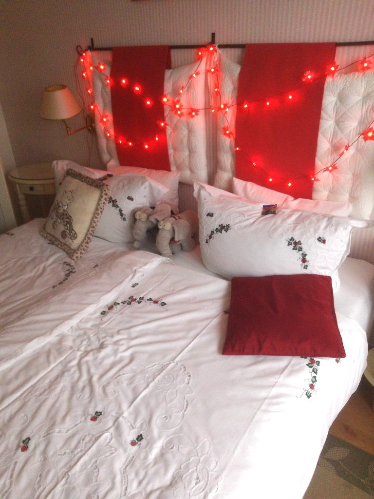 Bett schon bewohnt