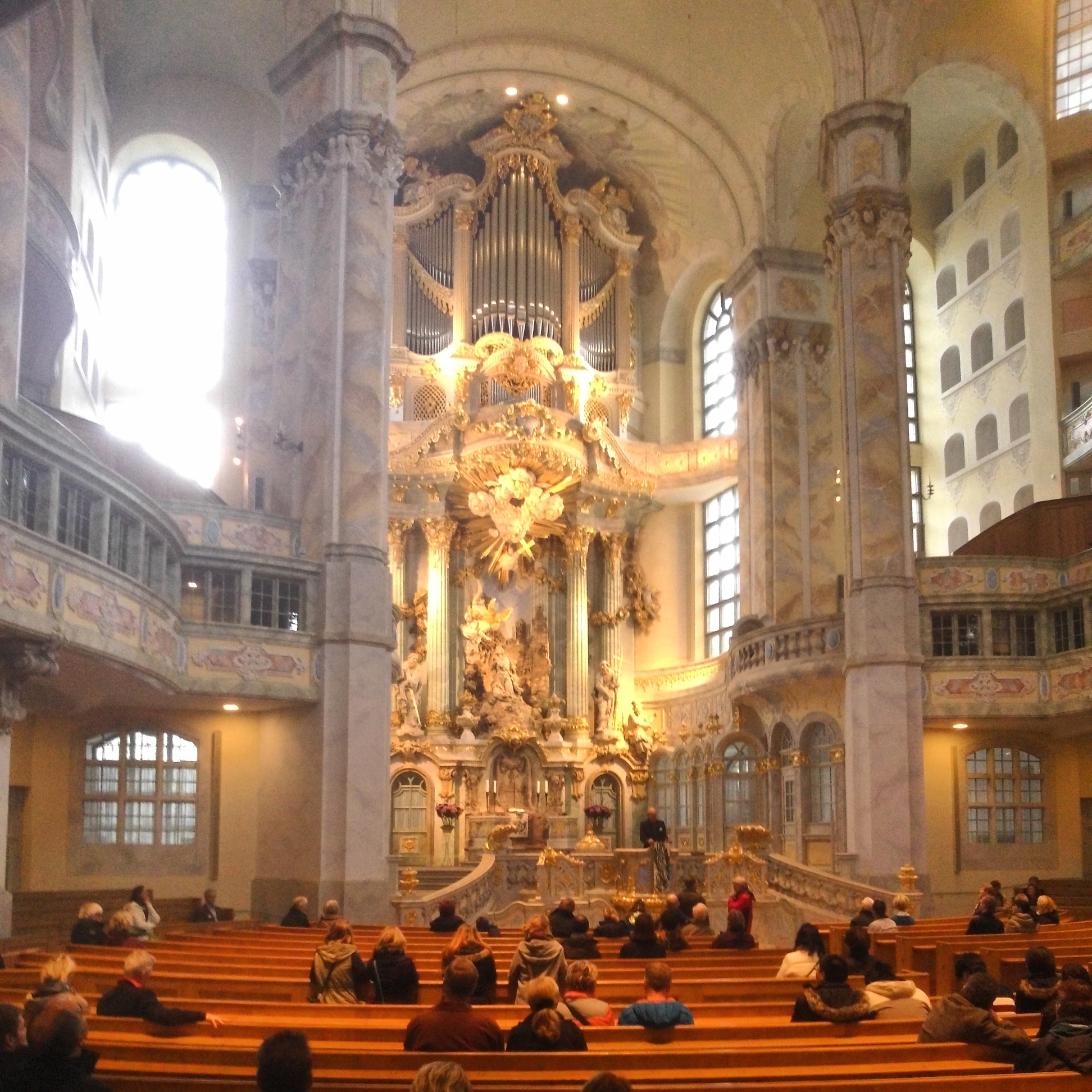 Frauenkirche innen