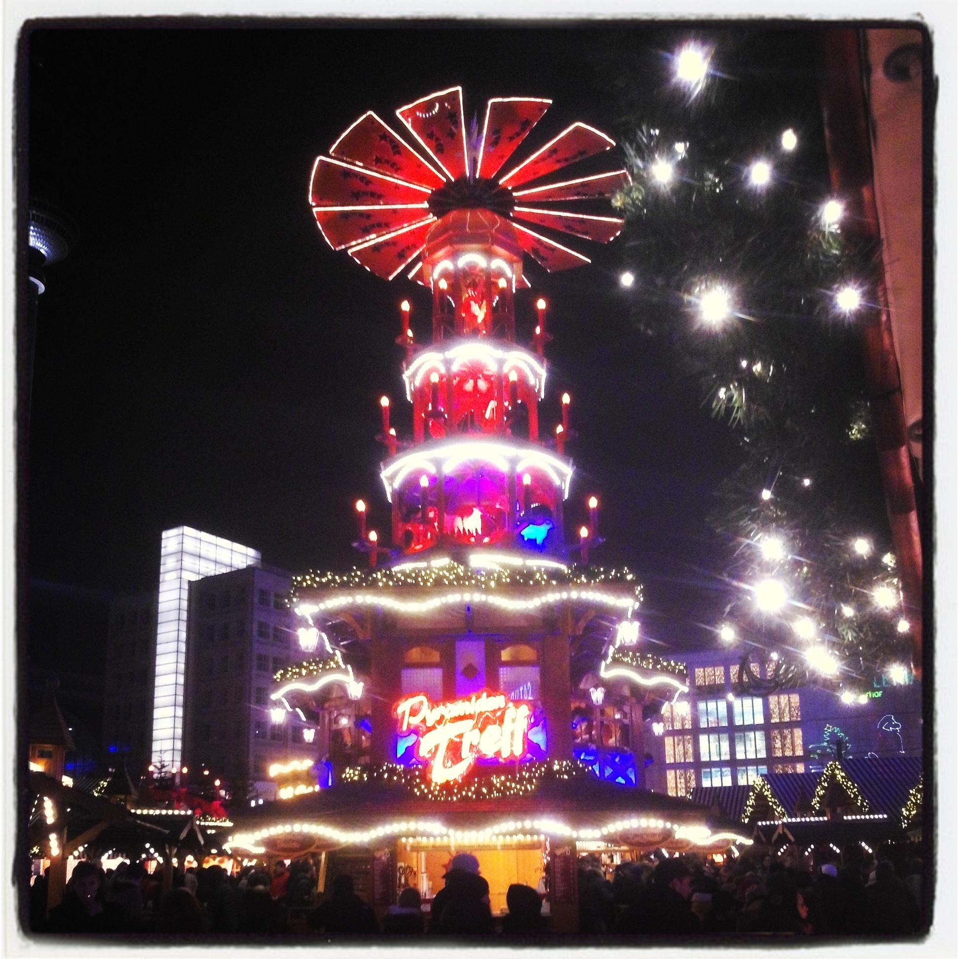Weihnachtsmarkt am Alexanderplatz